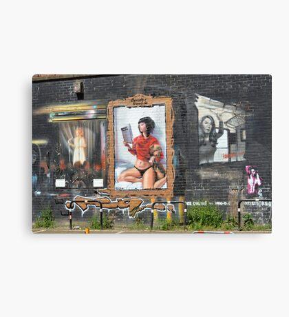 Brighton Street Art Canvas Print