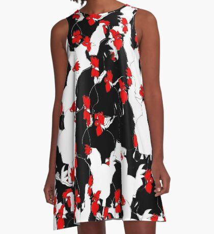 chooks A-Line Dress