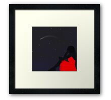 A Ghosts wish Framed Print