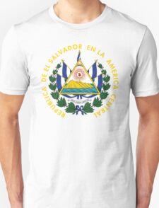 El Salvador Coat Of Arms Unisex T-Shirt