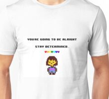 Undertale - Stay Determined! Unisex T-Shirt