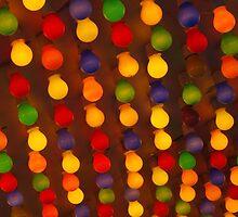 Carnival Light Bulbs by lezvee