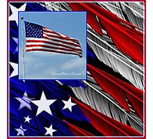 July Beginnings,Freedom Flys Photographic Print