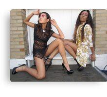 Fashion girls Canvas Print