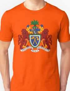 Gambia Coat Of Arms Unisex T-Shirt