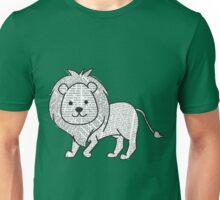 Cyril the Paper Lion Unisex T-Shirt