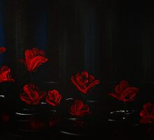 Graffiti Love - Water Roses by fizzy-lizard