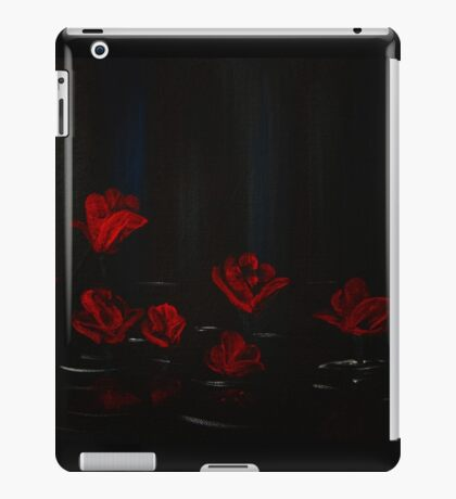 Graffiti Love - Water Roses iPad Case/Skin