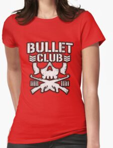 BULLET CLUB: RED Womens Fitted T-Shirt