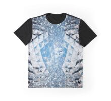 Blue sky in crystals Graphic T-Shirt