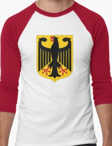 Germany Coat Of Arms Men's Baseball ¾ T-Shirt