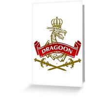 The Dragoon Coat-of-Arms Greeting Card