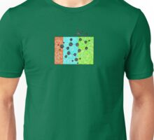 Coffee Addiction molecular structure of caffeine Unisex T-Shirt