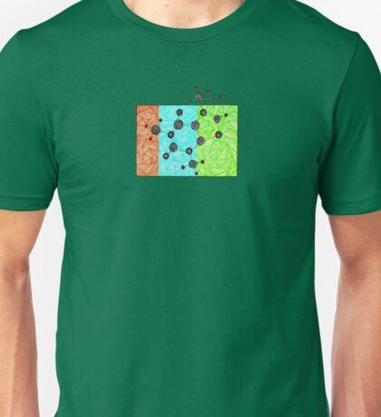 Coffee Addiction molecular structure of caffeine Unisex T-Shirt