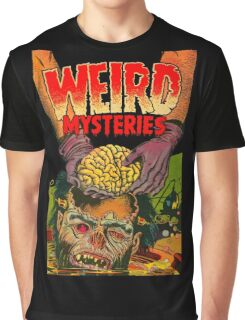 Weird Mysteries Comic cover Graphic T-Shirt
