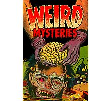 Weird Mysteries Comic cover Photographic Print