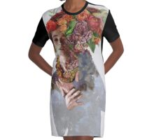 Persuasion Graphic T-Shirt Dress
