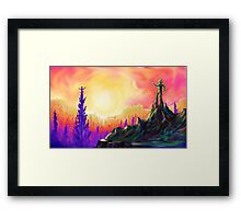 Photo- Synth- This! Framed Print