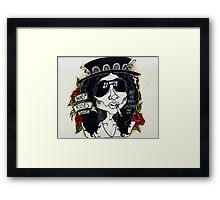 NOT IN THIS F***ING LIFETIME//S.H Framed Print