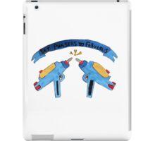 Set Phasers To Fabulous  iPad Case/Skin