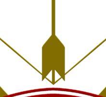 The Artillator Coat-of-Arms Sticker