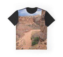 Entering Horseshoe Canyon - Utah Graphic T-Shirt