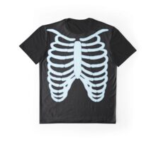 Ribcage C blue/black Graphic T-Shirt
