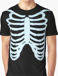 Ribcage C blue/black Graphic T-Shirt