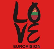 LOVE Eurovision [Transnistria] One Piece - Long Sleeve