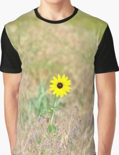 Wild Sunflower Graphic T-Shirt
