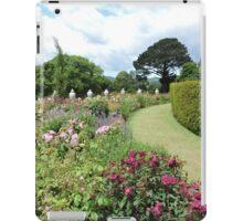 Lawn Through Flowers iPad Case/Skin