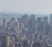 New York City Skyline by hilldog