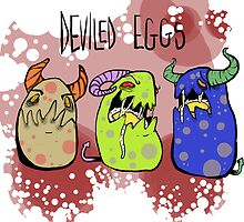 Deviled Eggs by squidincart