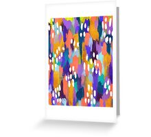 Jules - Abstract Greeting Card