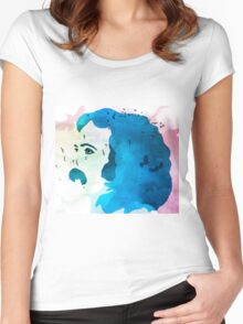 Music Is Love David Crosby Women's Fitted Scoop T-Shirt