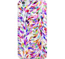 Bright Fun Summer Colors Artsy Paint Splatter Pattern iPhone Case/Skin