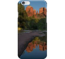 Reflection at Cathedral Rock iPhone Case/Skin