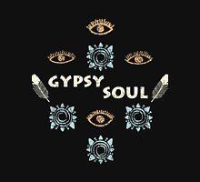 Boho eyes. Gypsy soul Women's Fitted Scoop T-Shirt