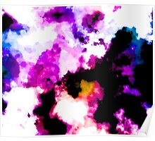 Watercolor Abstract Poster