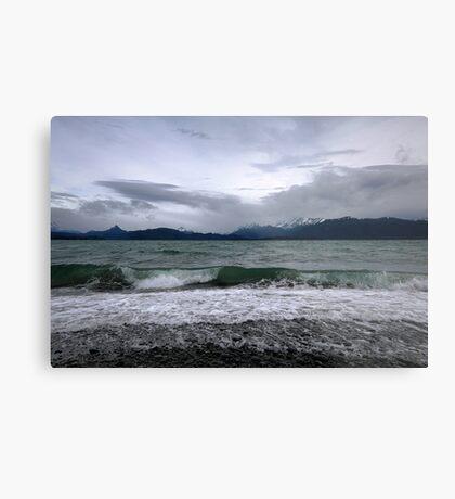 Lands End- Homer, Alaska Metal Print
