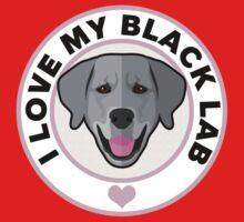 Love My Black Lab Kids Tee