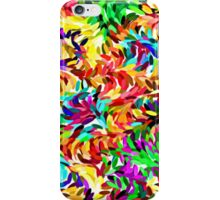 Cool Trendy Vibrant Summer Colors Paint Splatter Pattern iPhone Case/Skin