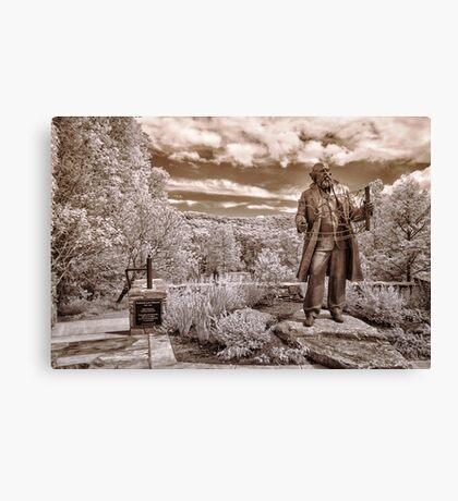 Olmsted at Arboretum Canvas Print