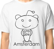 Global Reddit Meetup Day 2016 Amsterdam Classic T-Shirt