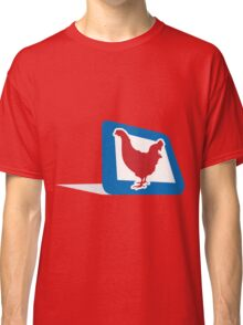 chicken in frame Classic T-Shirt