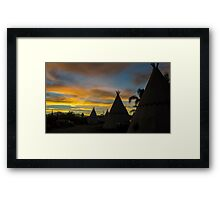 Sunrise at the Route 66 Motel Framed Print