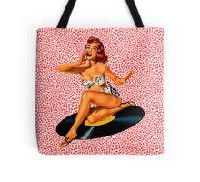Rockabilly Goddess Tote Bag