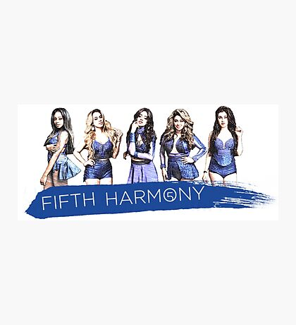 Colored Pencil In Fifth Harmony Photographic Print