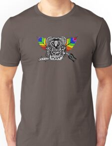 Rainbow Rose graffiti love wins Unisex T-Shirt