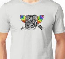 Rainbow Rose graffiti love wins Unisex T-Shirt
